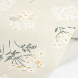 【生地】【布】【コットン】Lace flower - lace flower デザインファブリック★50cm単位でカット販売