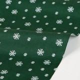 【生地】【布】【コットン】Winter tree - snowing 50cm単位でカット販売