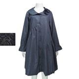 ◆秋冬物◆『ミセス』花モチーフ切り替えコート(M16219)