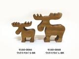 【WOOD】ウッドトナカイ 2サイズ BR・WH[*木製の雑貨*]