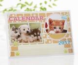 2017年 ワンニャン卓上カレンダー 67-31