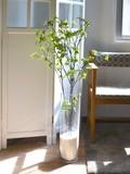 Glass White Dot Azalea Artificial Plants