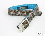 ハリスツイード ブルー 首輪 ハーネス ドッグ 犬 英国ブランド BlossomCo ブロッサム 日本未入荷