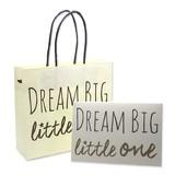 DREAM BIG LITTLE ONE ラッピング 資材 紙袋 箱 BOX 手提げ