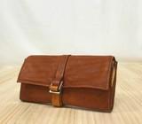 日本製 フォロ・ウォレット 馬革ヌメ かぶせ長財布