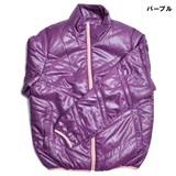 【特価】アウトドアやカジュアルシーンに最適♪シレー加工中綿レディースジャケット【物流KRS】