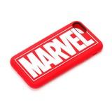 MARVEL iPhone 7用 シリコンケース ロゴ
