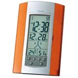 木目調電波置き時計
