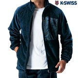 【メンズ】ボアフリースジャケット(K・SWISS)