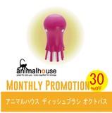 【SALE】30%OFF☆ アニマルハウス ディッシュブラシ オクトパス