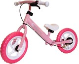 ブレーキ付 キッズ・ウォーキングバイク ピンク