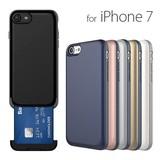 【iPhone7 ケース】Card Slot case(カードスロットケース)スロット式カード収納
