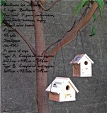 Bird house kit A 横長タイプ