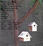 Bird house kit B 縦長タイプ