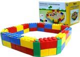 【水遊び玩具】砂場(ブロック付き)