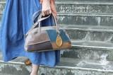 【C.I.L シーアイエル】 2WAYマルチカラーパッチワーク小さめバッグ