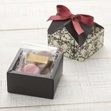 House Box Arabesque Ribbon SEAL Wrapping Paper Box