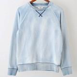 2016 A/W Indigo Fleece Long Sleeve Sweatshirt