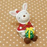 【クリスマス特集】 ノーティー ハッピークリスマス ウサギ (ノーティーアニマルマスコット)