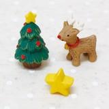 【クリスマス特集】 ミニミニフレンズセット トナカイ&ツリー (ノーティーアニマルマスコット)