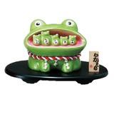 開運ムカエルバンク【かえる】【蛙】【貯金箱】