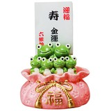 六蛙バンク【かえる】【蛙】【貯金箱】