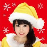 【XM】サンタ帽子(イエロー)