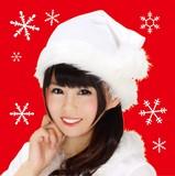 【XM】サンタ帽子(ホワイト)
