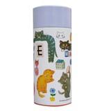 【■ECOUTE!】 E.minette軽量ステンレスマグボトル コラージュ