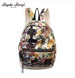 Legato Largo Botanical Cat Original Print Backpack