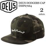 《即納》DEUS EX MACHINA《秋冬》■キャップ■DMP67664■DEUS DODGERS CAP■デウス