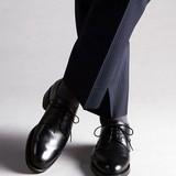 < London shoe make > 【牛革】グットイヤーウエルト製法 メンズ  デュプイレザー プレーン 317