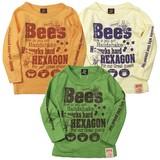 ★SALE★2016AW新作【Boom Town Kids】HONEY BEE長袖Tシャツ