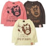 ★SALE★2016AW新作【Boom Town Kids】KING OF BEAST長袖Tシャツ