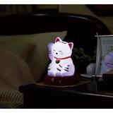 縁起物招き猫センサーライト