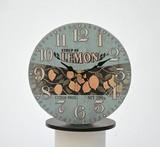 オールドルック テーブルクロック レモン【時計】