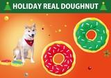★ホリデーリアルドーナツ★クリスマスを連想させる可愛いドーナツがクリスマスシリーズに登場☆