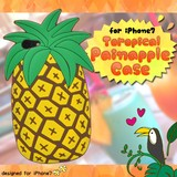 Case Series Tropical Mood iPhone7 Exclusive Use Tropical Pineapple Case