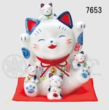Ornament Somenishiki Making Beckoning cat Size 5 Piggy Bank