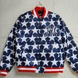【MAJESTIC】キッズ 星条旗柄パデッドサテンジャケット 4枚セット