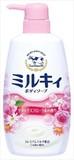 ミルキィボディソープリラックスフローラルの香りポンプ付 【 ボディソープ 】