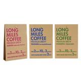ロングマイルズコーヒー【アフリカの大地から、 大自然の恩恵を受けた贅沢なコーヒーが届きました】