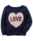 【SALE】Carter's カーターズ セーター LOVE ★