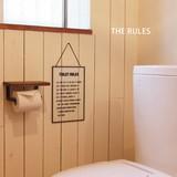 スタイリッシュなルール表【THE RULES】ルールズ