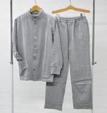 【大特価】蓄熱わた入り紳士パジャマ