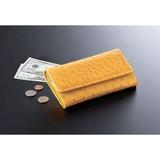 オーストリッチ調 風水長財布