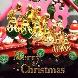 Happy Xmas♪ クリスマス きらきら 大人可愛い イヤリング  《SION パワーストーン 天然石》