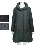 ◆秋冬物◆『ミセス』四角模様ボリューム中綿コート(M16323)