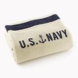 Faribault (ファリバウト) US Navy Cream ブランケット