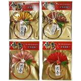 迎春扇飾り 4種アソート DS-520